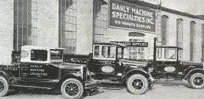 Historical image of a DANLY factory